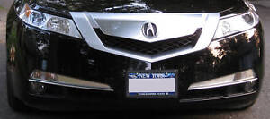 Acura Tl 2009 2010 2011 Chrome Grill Trim Kit 09 10 11