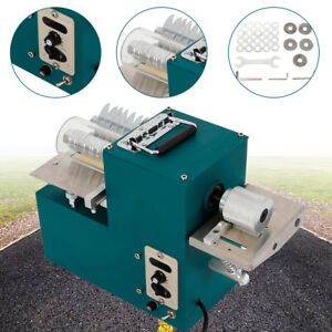 40w Electric Leather Slitter Leather Cutting Machine Shoe Bags Cutter Upgrade
