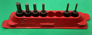 Snap On 208efay 8pc 3 8 Drive Sae Standard Hex Bit Socket Set Missing 2