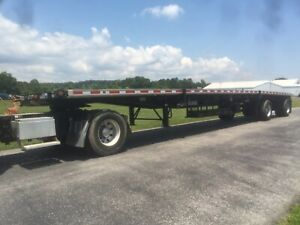 2019 Fontaine 48 Combo Flat Bed Trailer Spread Axle