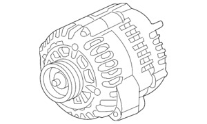 Genuine Gm Alternator 84143542