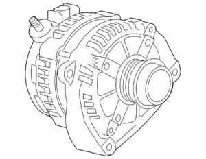 Genuine Gm Alternator 84331091