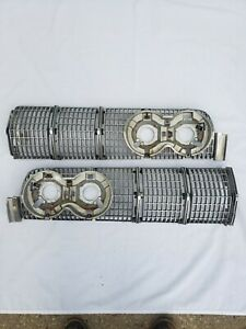 1964 Lincoln Continental Grille Left And Right Sections