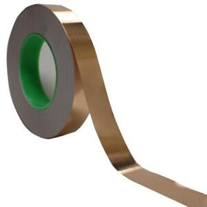 Copper Foil Tape 1 X 55 Yds Emi Conductive Adhesive Ship From Usa