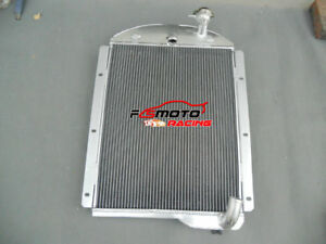 Aluminum Radiator For Chevy Pickup Truck 1941 1946 1941 1942 1943 1944 1945 46