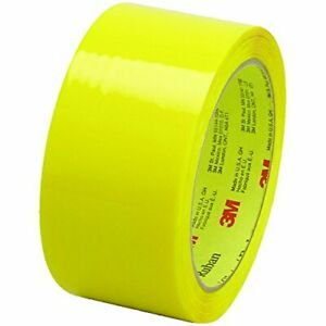 Scotch 373 High Performance Packing Tape 2 Inch X 55 Yards 2 5 Mil Thick Yell