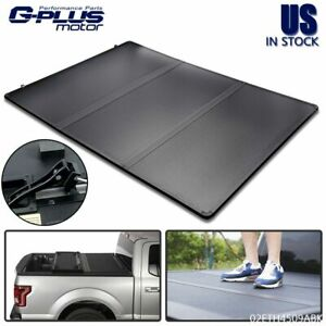 Lock Tri Fold Hard Tonneau Cover For 2015 2020 Chevy Colorado Gmc Canyon 5ft Bed
