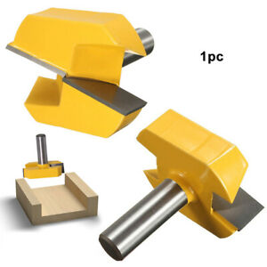 55mm Router Bit Cnc Grooving Woodwork Milling Cutter Home Solid Bottom Cleaning