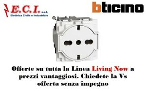 Bticino Living Now Kw4140a16f Outlet Flat Standard German And Italian