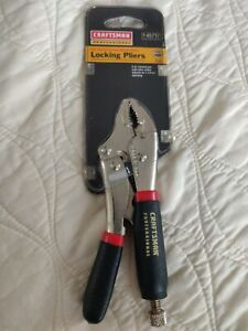 Craftsman Professional 5 Inch Curved Jaw Locking Pliers