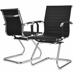 Conference Reception Chairs Lecture Exam Set Of 2 Armchair Waiting Office Guest
