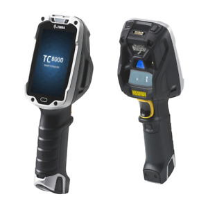 Zebra Tc8000 Mobile Barcode Terminals With Android Os And Two Batteries