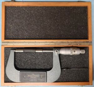 Brown Sharpe Digit Counter Micrometer 203 3 0 To 4 0 0001 Resolution