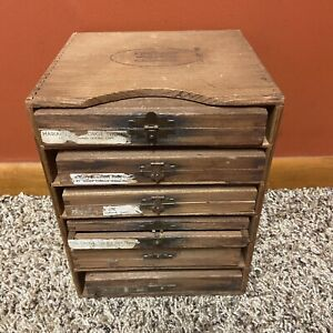Kingsley Stamping Machine Company Hollywood California Drawer 6 Empty Cases