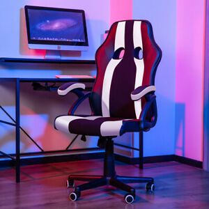 Office Chair Executive Racing Gaming Chairs High Back Computer Desk Seat Swivel