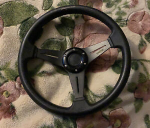 92 95 Civic 94 01 Integra Momo Steering Wheel With Sparco Quick Release And Hub
