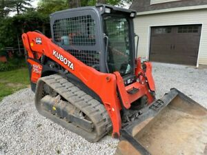 2020 Kubota Svl 75 2 Cab Skid Steer Track Loader With A c And Heat Quick Attach
