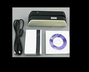 Msrx6 Smallest Usb powered Magnetic Stripe Reader writer B w Fast Shipping Usa