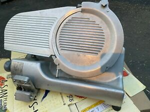 Hobart Hs6 Commercial Heavy Duty Meat Slicer W 13 Removable Knife Blade read