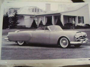 1952 Packard Pan American 11 X 17 Photo Picture