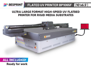 Bp1065f Ultra Large Format High speed Uv Flatbed Printer 10 x6 5 For Rigids