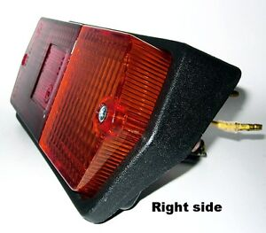 Kubota Tractor M 8200 Right Hand Side Tail Lamp Tail Light Siganal Lamp 1 Pc