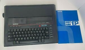 Vintage Brother Electronic Typewriter Ep5 W Cover And Manual