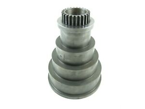 South Bend 13 Lathe Headstock Spindle 4 Step Cone Pulley And Cone Pinion Gear