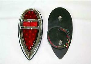 1938 1939 Ford Lincoln Vintage Style Led Tail Light With 21 Led S And Rapid Fire