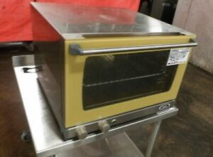 Commercial Nsf Cadco Xaf 113 Half size Countertop Convection Oven Cookie pizza