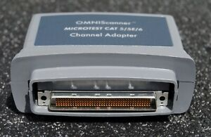 Microtest Omniscanner Cat 5 5e 6 Channel Adapter P n 2950 4012 01
