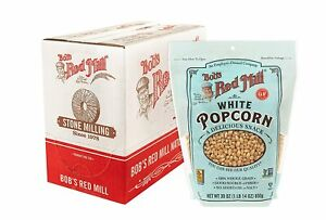 Bob s Red Mill Resealable Whole Popcorn White 30 Ounce 30 pack Of 4