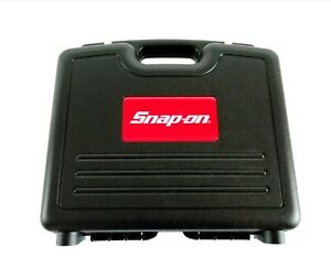Snap On Tools Power Drill Impact Gun Diagnostic Hard Case With Foam Tool Box
