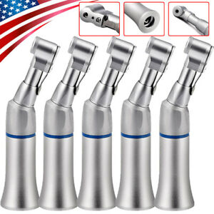 5pcs Dental Slow Low Speed Contra Angle Handpiece E type Latch Wrench Bur Usa