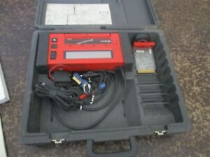 Snap On Red Brick Scanner Kit Mt2500 Cables Connections Cartridges Extras