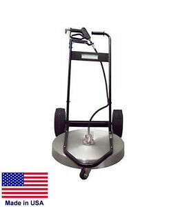 Pressure Washer Surface Cleaner Commercial 24 Cleaning Area 3 To 10 Gpm