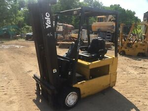 2001 Yale 3500 Electric Forklift Good Clean Machine