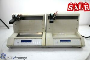 Gilson Fc 203b Compact Hplc Fraction Collector Sample Collector lot Of 2