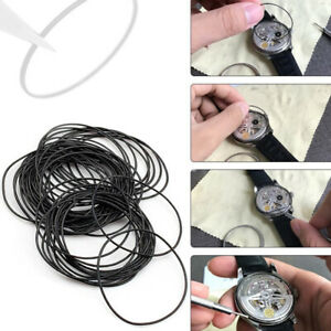 O ring Gasket Kit Diy Watch Back Cover Replacement Waterproof Gasket Durable New