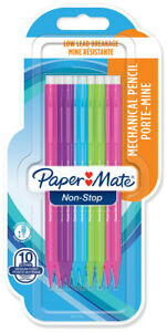 Papermate Sharpwriter Mechanical Pencil 0 7mm Neon Colours blister Of 10