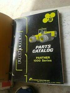 Steiger Panther 1000 Series Tractor Parts Manual Catalog