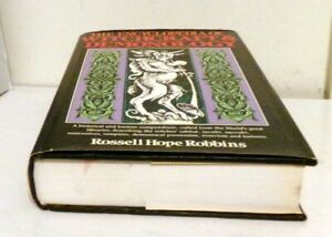 OCCULT: THE ENCYCLOPEDIA OF WITCHCRAFT AND DEMONOLOGY Robbins Illustrated $57.75
