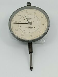 Compac Geneve Precision Dial Indicator Type 523 Gla 00005 Clean Usa Seller