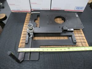 Huge Zeiss Axiotron Germany Xy Stage Table Microscope Part As Pictured Td 4