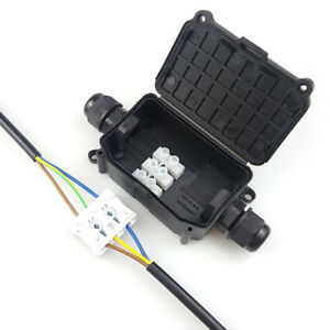 Ip66 Waterproof Junction Box Case Underwater Electrical Cable Wire Connector