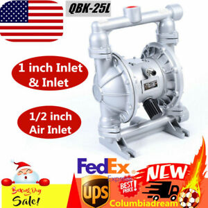 Us Air operated Double Diaphragm Pump Petroleum Fluids 1inch Inlet 1inch Outlet