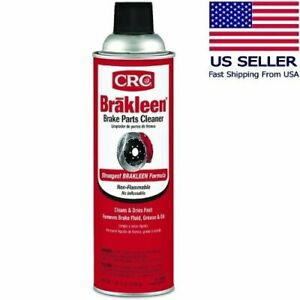 Crc Brakleen Car Motorcycle Brake Parts Cleaner Non Flammable 19 Wt Oz