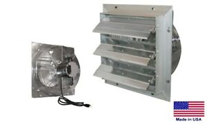 Exhaust Fan Commercial Direct Drive 24 115v Variable Speed 4640 Cfm