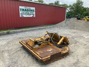2004 Quick Attach 72 Hydraulic Mower Attachment For Skid Steer Loaders