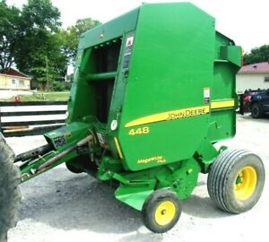 2009 John Deere 448 Round Baler bale Size 4x4 free 1000 Mile Delivery From Ky